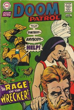 63 Best Doom Patrol Covers Images Doom Patrol Doom Comic Covers