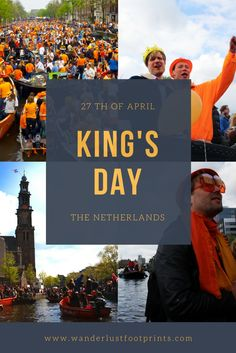 King's Day in Amsterdam, crazy orange Dutch Holiday!! – wanderlustfootprints
