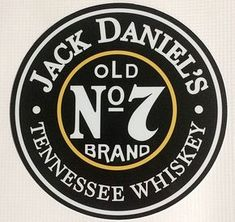 Jack Daniels Old No. 7 Tennessee Whiskey Tin Tacker Sign NEW.