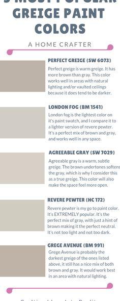Beige Paint Colors, Room Paint Colors, Interior Paint Colors, Paint Colors For Home, Wall Colors, House Colors, Gray Beige Paint, Benjamin Moore Paint, Paint Colors