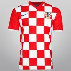 2223b2d7db Camisa Nike Seleção Croácia Home 2014 Netshoes