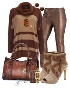 """""""Casual"""" by alice-fortuna on Polyvore featuring moda, Wallis, Frye, Vince Camuto, West Coast Jewelry, Versus e Suzy Levian"""