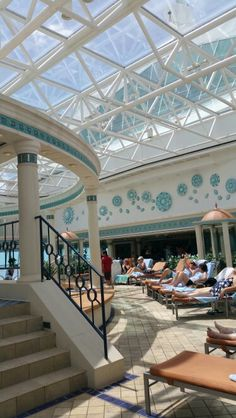 Royal Caribbean Cruise, Enchantment of the Seas, Solarium