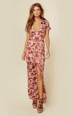 SAFFRON MAXI DRESS | @ShopPlanetBlue