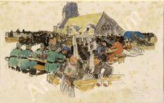 Hommage à Mathurin Méheut   né le 21 mai 1882    (1882-1958)