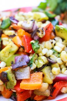 Grilled Fiests Salad Recipe | Catching Seeds - it's vegan and looks yummy!