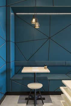 A triangular exploration – Biasol's Little Hugh cafe | Australian Design Review