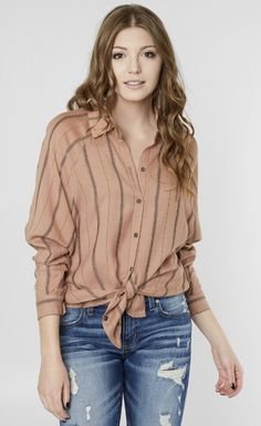 206d5e3644185e Daytrip Striped Blouse - Women s Shirts Blouses in Ginger Spice