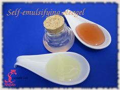 transparent self-emulsifying oils and gels