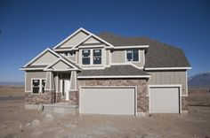 The Olympia is a nice 4 bedroom 2 stroy with and open great room off the kitchen and a private office or living room near the entrance. Olympia, Great Rooms, Entrance, New Homes, Floor Plans, Real Estate, Flooring, How To Plan, Mansions