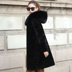 Image result for fur hood collar sheepskin coat Sheepskin Coat, Fur Coat, Jackets, Image, Fashion, Down Jackets, Moda, Shearling Coat, Fashion Styles
