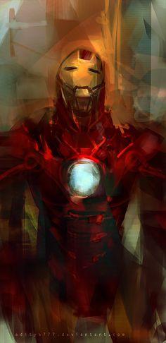 Iron Man by *aditya777 on deviantART