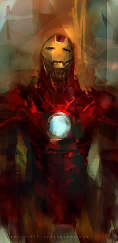 Iron Man by *aditya777 on deviantART