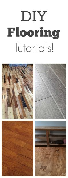 Flooring is easier than you think! This site also has hundreds of other tutorials and tips on painting anything in or outside of your home!  A must REPIN for DIYers