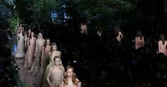 Elie Saab for Haute Couture Fashion Week
