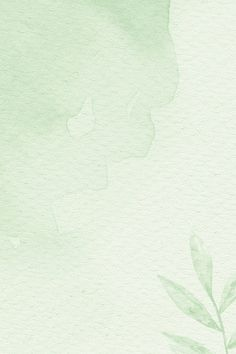 Download premium illustration of Green watercolor patterned background