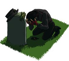 Pappy's Grave by *rileylaroux