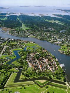 Fredrikstad in der Region Østfold wurde zur attraktivsten Stadt Norwegens 2017 gekürt. Also hin da!