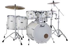 Pearl DMP927SPC Decade 7 PC Drum Shell Pack White includes Bass Drum Muffler *** You can get more details by clicking on the image.Note:It is affiliate link to Amazon.