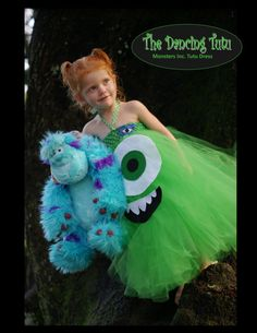 Mike from Monsters Inc/Monsters University by TheDancingTutu1, $30.00