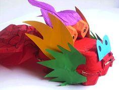 Lavoretti di riciclo creativo per bimbi - Dragone