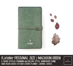 Simple, stylish and minimalistic, our Personal Size TN-style leather journal cover makes the perfect companion protecting your papers, sketches and drawings.