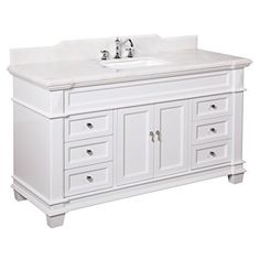Elizabeth 60-inch Single Sink Bathroom Vanity (White/Whit... http://www.amazon.com/dp/B01AAM7V1S/ref=cm_sw_r_pi_dp_UVzgxb17GRST3