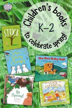 Children's books to celebrate Spring! Kindergarten Lesson Plans, Kindergarten Literacy, Literacy Activities, Children's Books, Good Books, Reading Resources, Classroom Resources, Animal Books, Spring Activities