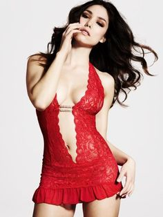 Ann Summers Marydoll Body - Red also available in black £20