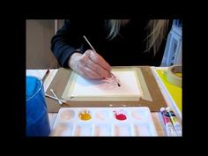▶ Watercolor Tutorial-Wet on Dry technique for beginners - YouTube