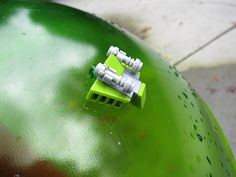 LEGO a Day 237/365 - Green Globetrotter