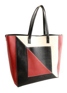 Arte PU couro Tote Bag para mulher - Milanoo.com