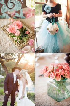 Red Corral Ranch Wedding by Sherry Hammonds Photography | Style Me Pretty