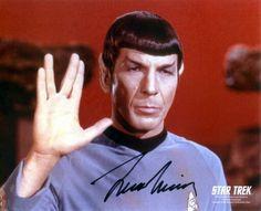 - Leonard Nimoy ~ RIP - #actor #Startrek #Spock #Mrspock #Vulcan #Leonardnimoy #RIPhttp://www.pinterest.com/TheHitman14/the-actor/