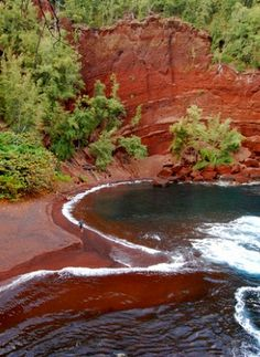 Travel Inspiration | Red Sand Beach, Maui.