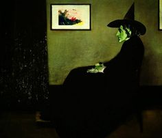 Wizzler's Mother  |  Wizard of Oz's Wicked Witch of the West Art Print