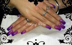 Prescription Nails - Pink color changing gel