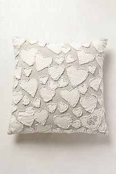 Heart Collector Pillow #anthropologie
