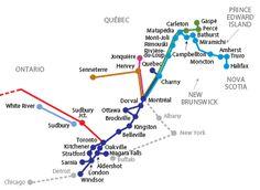 Via Rail is Canada's train system