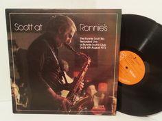 THE RONNIE SCOTT TRIO scott at ronnie's, LPL1 5056 - JAZZ, BLUES, Jazz-rock-prog, nearly jazz and nearly blues!