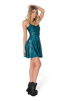 Merboy Straps Skater Dress - LIMITED