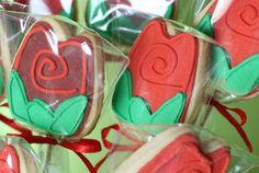 Roses Cookies, Sant Jordi day