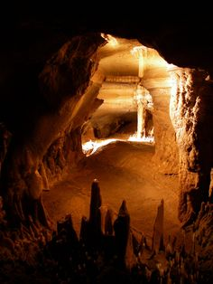 Seneca Caverns - Pocahontas County, West Virginia - I love how it's called Pocahontas County! I love caves.