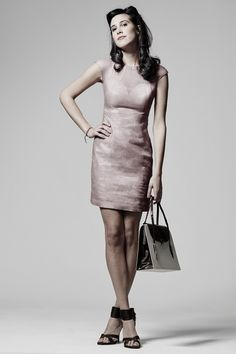 Siara dress - Body con dress. sewing pattern by Ralph Pink