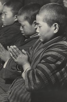 """New Year's Ritual, Niigata Prefecture"" by Hiroshi Hamaya (1915 - 1999), Japan, 1940 - 1946, Gelatin silver print; © Keisuke Katano, Courtesy of The J. Paul Getty Museum, Los Angeles."