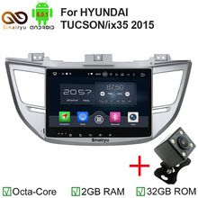US $363.99 8 Core Android 6.0.1 car dvd player Fit For HYUNDAI TUCSON ix35 2015 2016 With wifi bluetooth DAB+ radio GPS Navigation System R. Aliexpress product