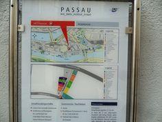 Map, Passau, Germany