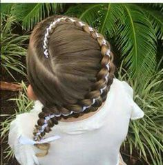 Popular hairstyles for school Baby Girl Hairstyles, Princess Hairstyles, Hairstyles For School, Popular Hairstyles, Pretty Hairstyles, Braided Hairstyles, Braids With Beads, Natural Hair Styles, Long Hair Styles