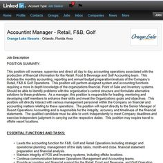 Job applicants with decent spelling skills needed... #typo #linkedin #orlando #jobs #OrangeLakeResort