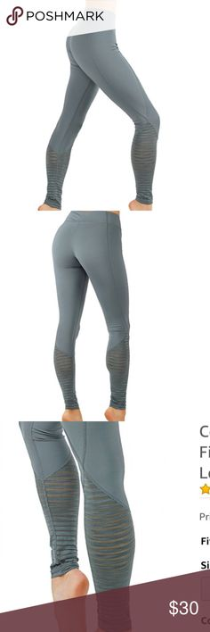 Yoga Pants fit Burnout Mesh Panel grayish/blue * TUMMY CONTROL : Ankle Length with High-Waist Active Elastic Waistband: Exceptional Stay in place elastic waistband that is fabulous, stylish, and appropriate. * NON SEE TRUG : (Enough thickness with breath ability: No See through) * PREMIUM DESIGN : Secure Hidden Pocket that holds simple objects such as keys or credit cards. Smood lines that body shape your body. * MOISTURE WICKING : Provides lightweight comfort along with sweat absorption and…